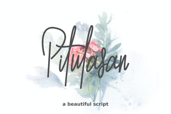 Pitulasan Handwritten Font
