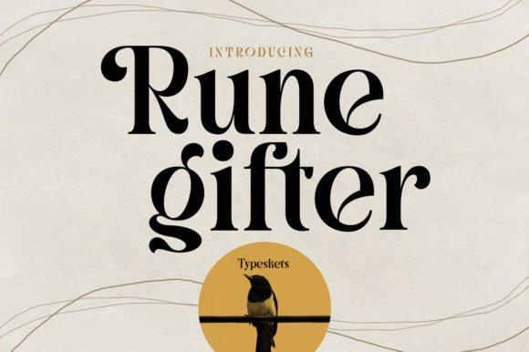 Rune Gifter Serif Font