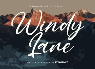 Windy Lane Script Font