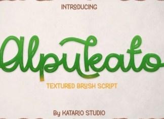 Alpukato Script Font