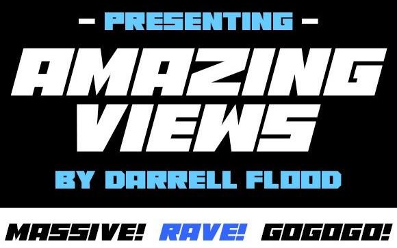 Amazing Views Display Font
