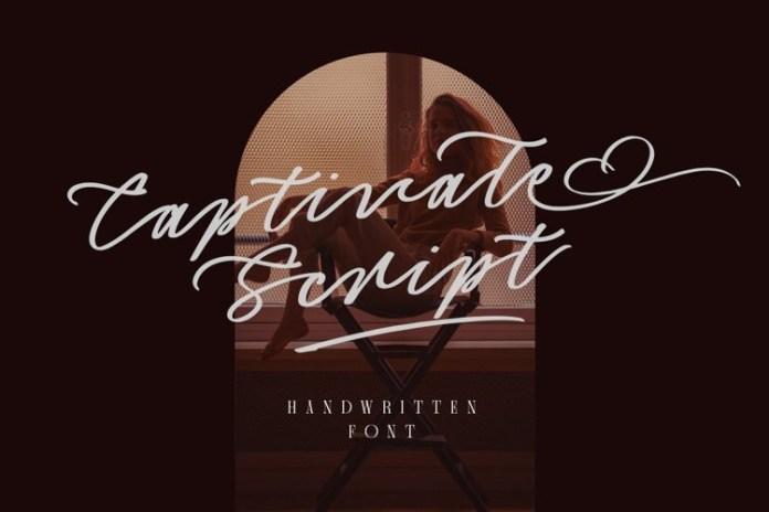 Captivate Script Font