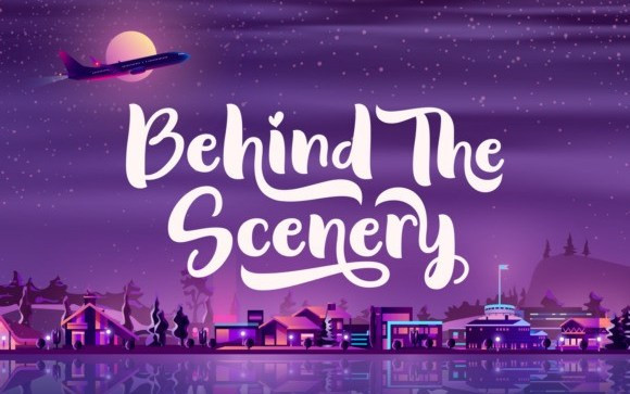 Behind The Scenery Script Font