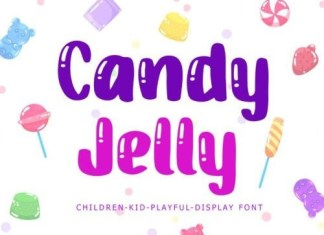 Candy Jelly Display Font