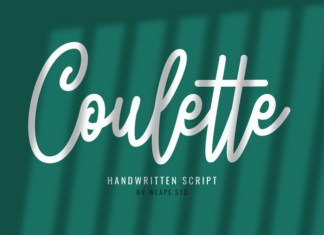 Coulette Script Font
