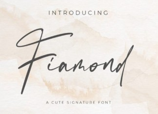 Fiamond Script Font