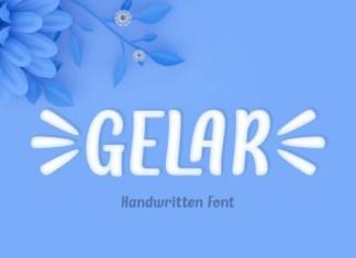 Gelar Display Font