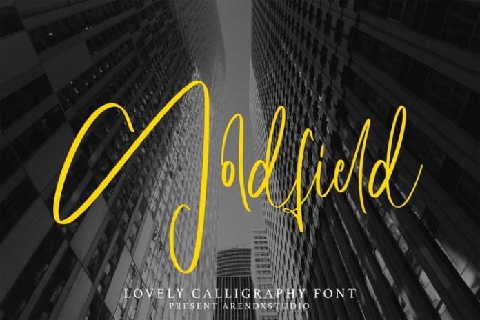 Goldfield Handwritten Font