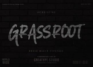 Grassroot Script Font
