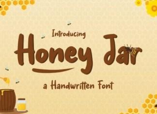Honey Jar Display Font