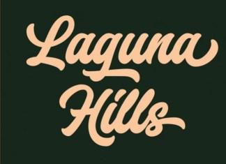 Laguna Hills Script Font