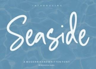 Seaside Handwritten Font