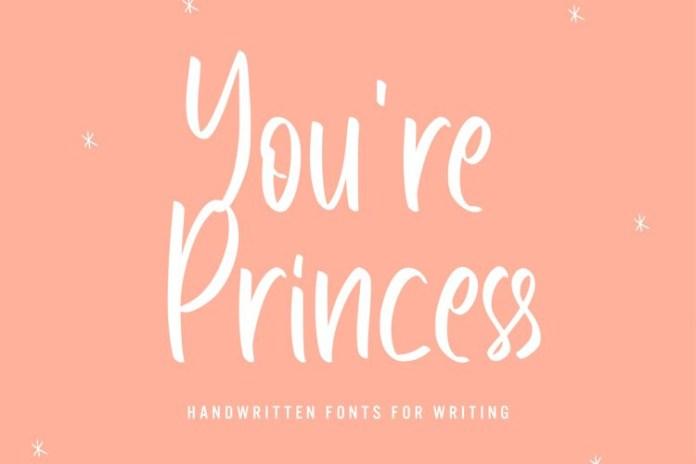 Youre Princess Script Font