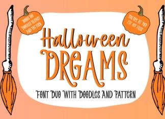 Halloween Dreams Display Font
