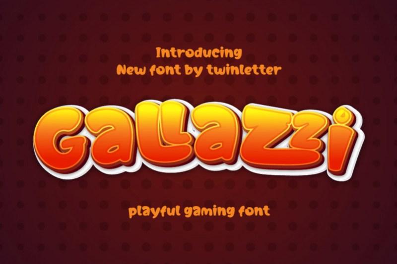 Gallazzi Display Font