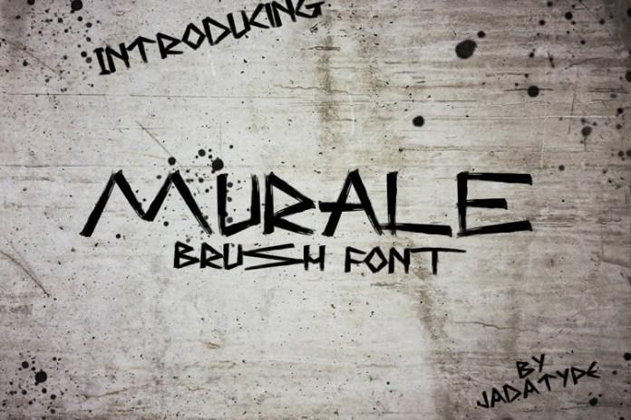 Murale Brush Font