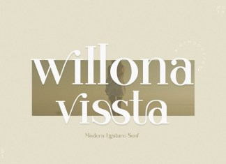 Willona vissta Serif Font