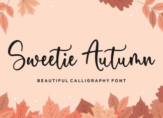 Sweetie Autumn Script Font