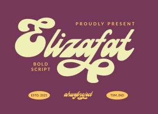 Elizafat Script Font