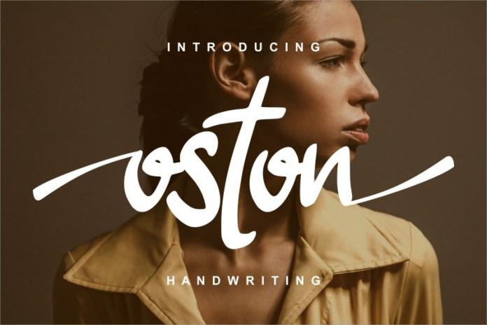 Oston Script Font