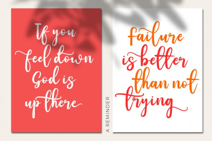 Freeliving Calligraphy Font