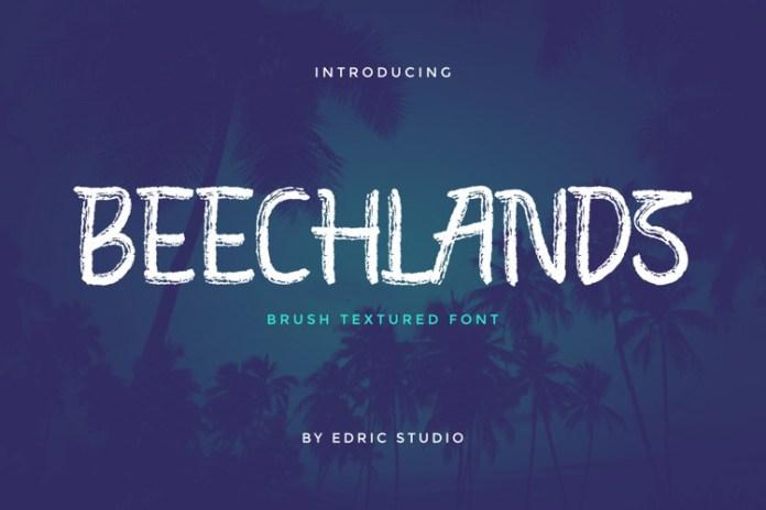Beechlands Display Font