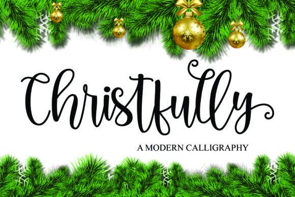 Christfully Script Font