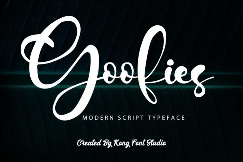 Goofies Script Font