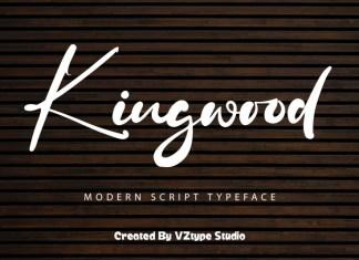 Kingwood Script Font
