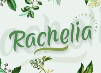 Rachelia Script Font