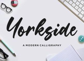 Yorkside Script Font