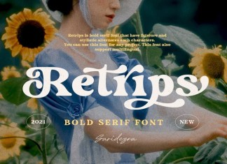 Retrips Serif Font