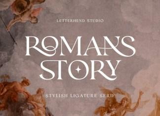 Romans Story Font