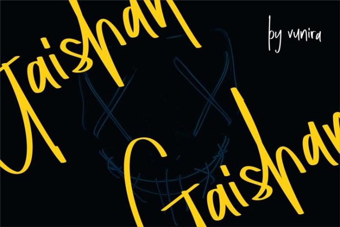 Gaishan Handwritten Font