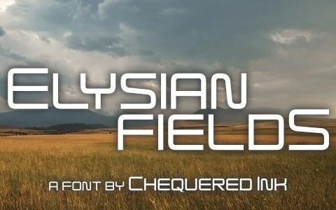 Elysian Fields Display Font