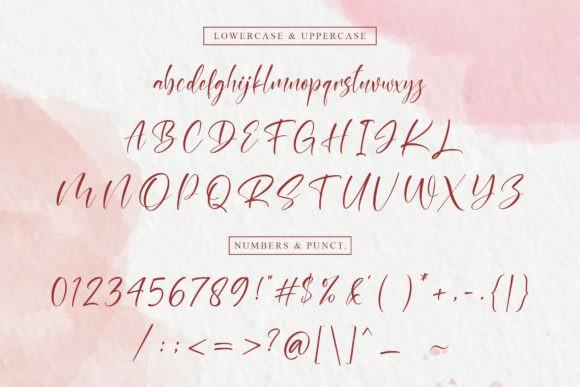 Raissey Script Font