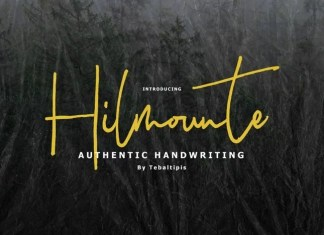 Hilmounte Signature Script Font