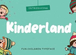 Kinderland Display Font