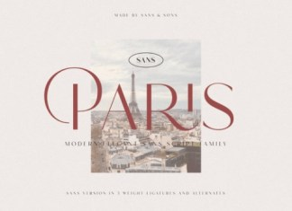 Hello Paris Sans Serif Font