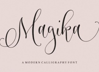 Magika Calligraphy Font