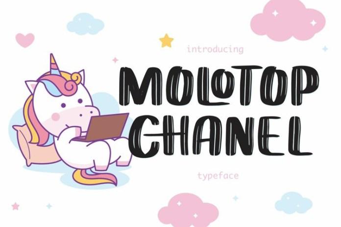 Molotop Chanel Brush Font