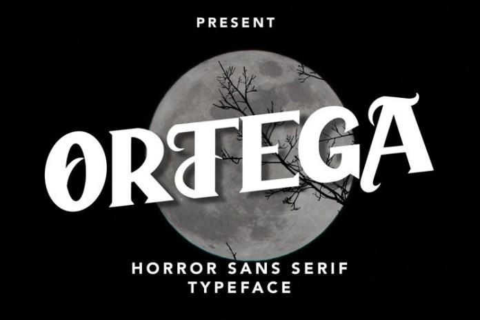 Ortega Display Font