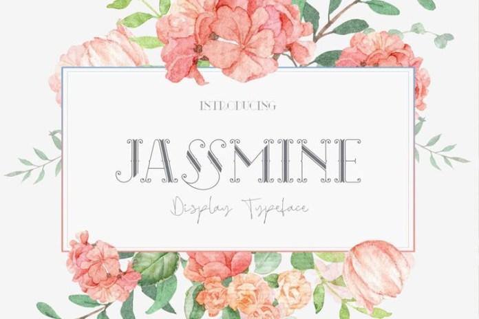 Jassmine Display Font