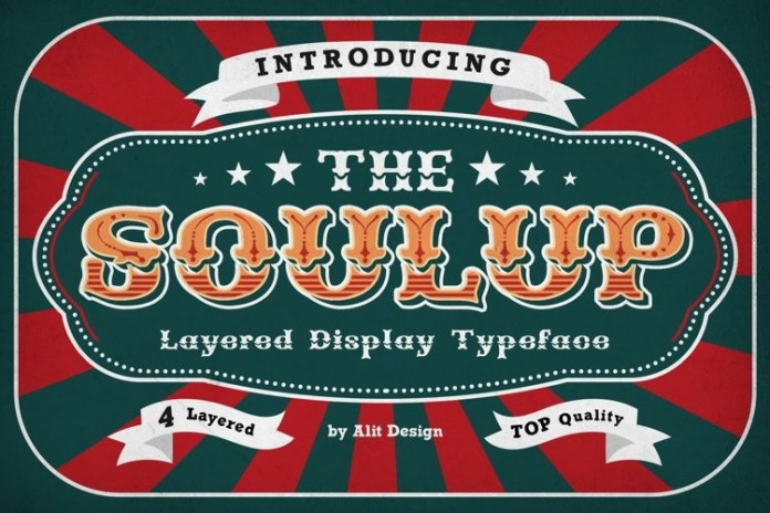 Soulup Display Font