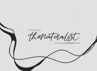 The Naturalist Script Font