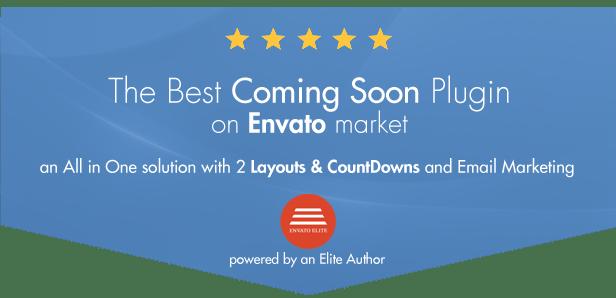 Coming Soon CountDown Responsive WordPress Plugin - 1