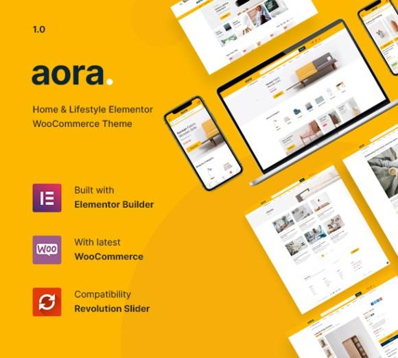Aora - Home & Lifestyle Elementor WooCommerce Theme - 7