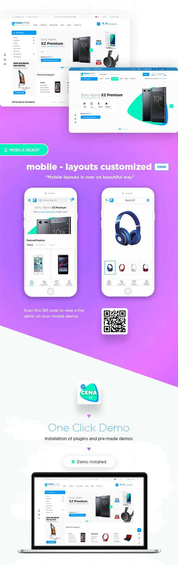 Cena Store - Multipurpose WooCommerce WordPress Theme - 7