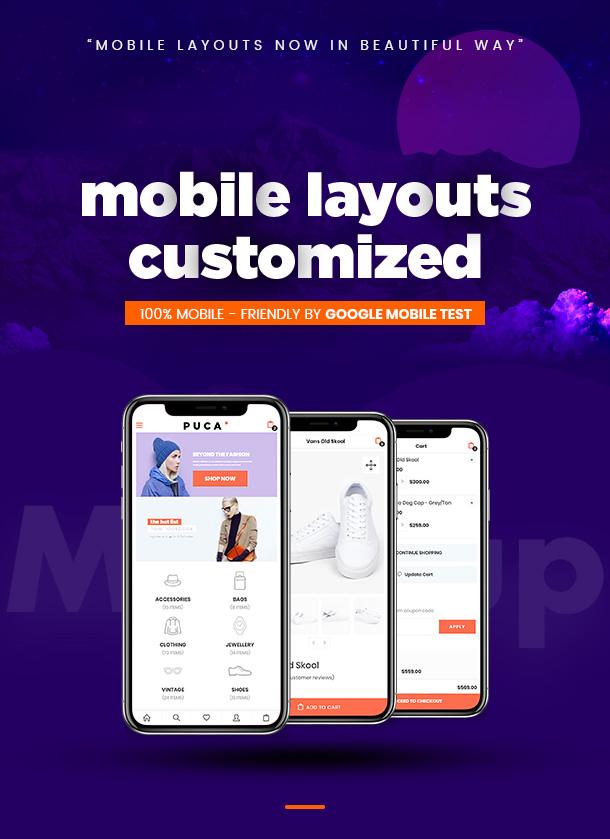 Puca - Optimized Mobile WooCommerce Theme - 9