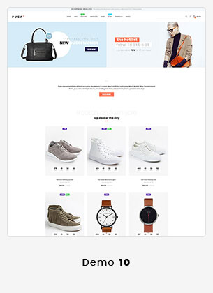 Puca - Optimized Mobile WooCommerce Theme - 23
